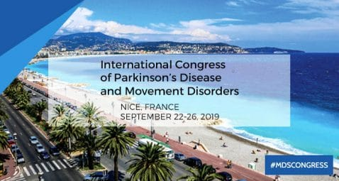 KYomed INNOV at the international congress of parkinson's disease
